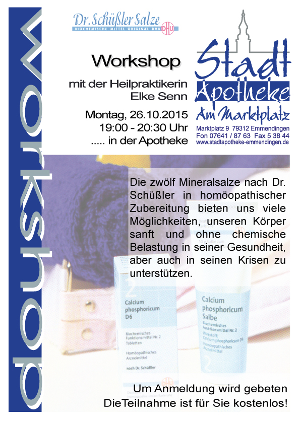 Schuessler-Workshop